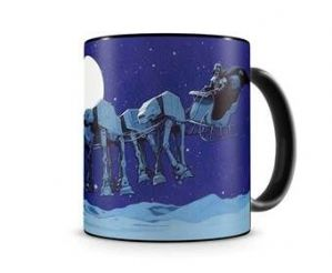 Star Wars MUG Xmas AT AT Sleigh